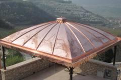 Realizzazione copertura a cupola in rame