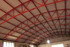 Struttura portante interna di capannone