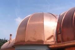 Cupola in rame e copertura