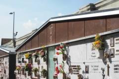 Realizzazione cornice cimiteriale in lemiera