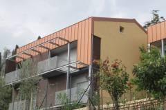 Rifacimento facciata in alluminio