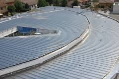 Nuova copertura Riverclack 55 Alluminio Naturale Tetto Scuola Media